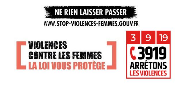 Arrêtons les violences !